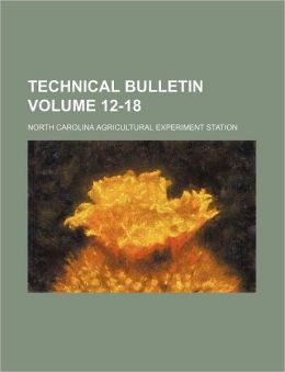 Technical Bulletin Volume 12-18