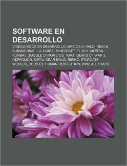 Software En Desarrollo: Videojuegos En Desarrollo, Mac OS X, Halo: Reach, Submachine, L.A. Noire, Minecraft, F1 2011, Mortal Kombat