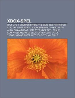 Xbox-Spel: Half-Life 2, Counter-Strike, the Sims, 2006 Fifa World Cup, the Elder Scrolls III: Morrowind, Grand Theft Auto: San An