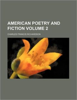 American Poetry and Fiction Volume 2