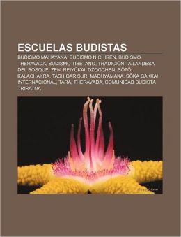 Escuelas Budistas: Budismo Mahayana, Budismo Nichiren, Budismo Theravada, Budismo Tibetano, Tradicion Tailandesa del Bosque, Zen, Reiy Ka