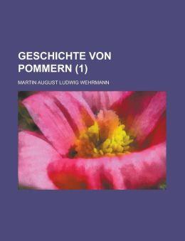 Geschichte Von Pommern (1)