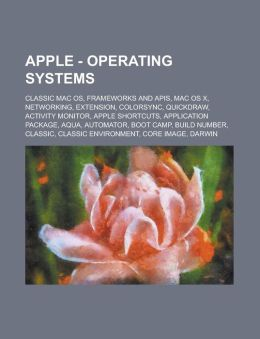Apple - Operating Systems: Classic Mac OS, Frameworks and APIs, Mac OS X, Networking, Extension, Colorsync, Quickdraw, Activity Monitor, Apple Sh