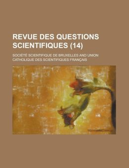 Revue Des Questions Scientifiques (14)