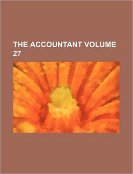 The Accountant Volume 27