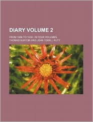 Diary Volume 2; from 1656 to 1659 in Four Volumes