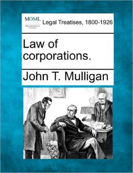 Law of Corporations.