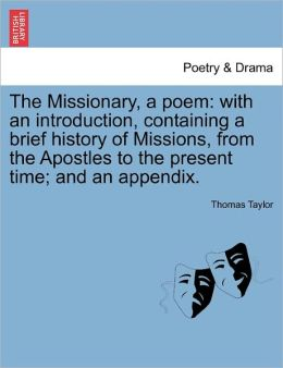The Missionary, A Poem