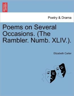 Poems On Several Occasions. (The Rambler. Numb. Xliv.).