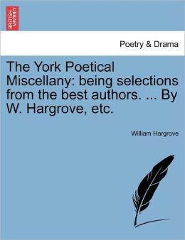 The York Poetical Miscellany