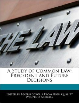 A Study Of Common Law