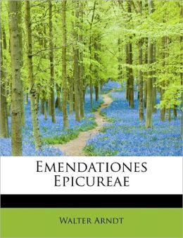 Emendationes Epicureae