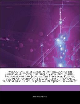 Articles On Publications Established In 1967, Including