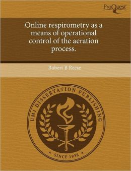 Online Respirometry As A Means Of Operational Control Of The Aeration Process.