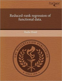 Reduced-Rank Regression Of Functional Data.