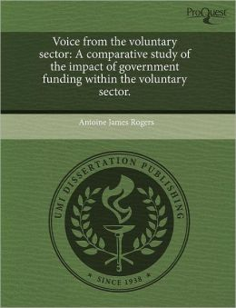 Voice From The Voluntary Sector