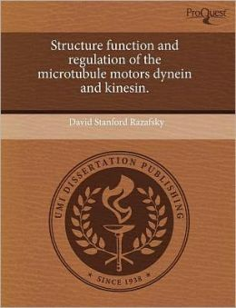 Structure Function And Regulation Of The Microtubule Motors Dynein And Kinesin.