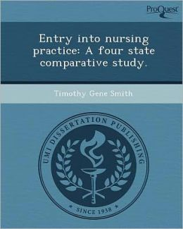 Entry into nursing practice: A four state comparative study.