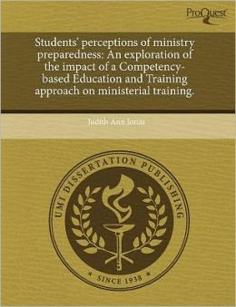 Students' Perceptions Of Ministry Preparedness