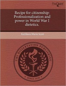 Recipe For Citizenship
