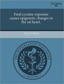 Fetal Cocaine Exposure Causes Epigenetic Changes In The Rat Heart.