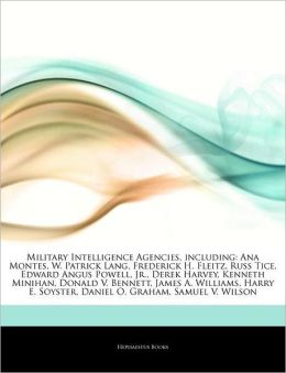 Military Intelligence Agencies, Including