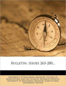 Bulletin, Issues 265-280...