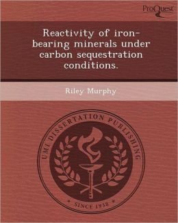 Reactivity of iron-bearing minerals under carbon sequestration conditions.