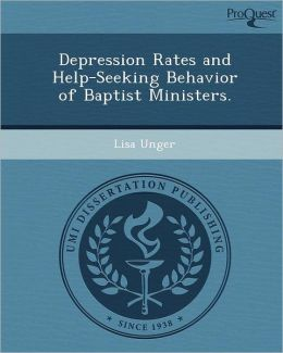 Depression Rates and Help-Seeking Behavior of Baptist Ministers.
