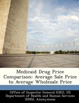 Medicaid Drug Price Comparison: Average Sale Price to Average Wholesale Price