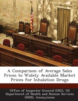 A Comparison of Average Sales Prices to Widely Available Market Prices for Inhalation Drugs