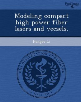 Modeling compact high power fiber lasers and vecsels.