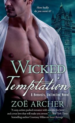 Wicked Temptation (Nemesis Unlimited Series #3)