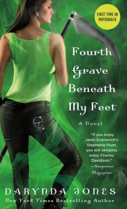 Fourth Grave Beneath My Feet (Charley Davidson Series #4)