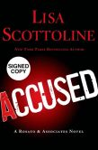 Book Cover Image. Title: Accused (Rosato & Associates Series #12) (Signed Book), Author: Lisa Scottoline