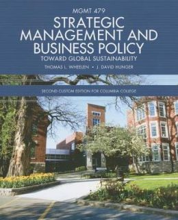 Strategic Management and Business Policy (Custom)