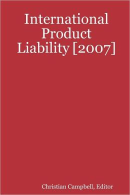 International Product Liability [2007]
