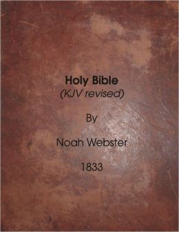 Holy Bible: KJV revised. 1833