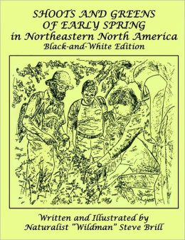 Shoots and Greens of Early Spring in Northeastern North America: Balck and-White Edition