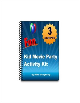 Kid Movie Party Theme Activity Kit