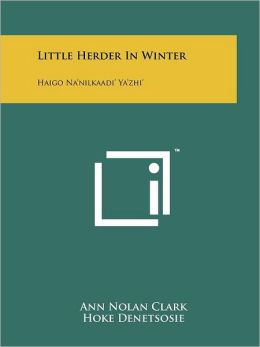 Little Herder In Winter