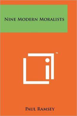 Nine Modern Moralists