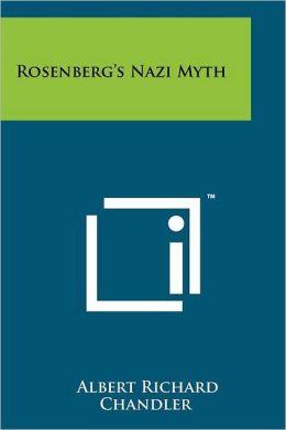 Rosenberg's Nazi Myth