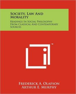 Society, Law And Morality