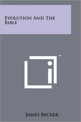 Evolution and the Bible