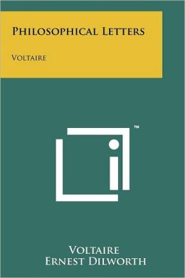 Philosophical Letters: Voltaire