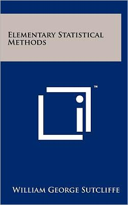 Elementary Statistical Methods