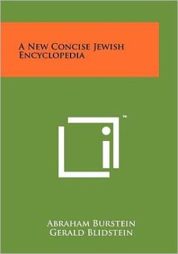 A New Concise Jewish Encyclopedia