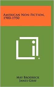American Non-Fiction, 1900-1950