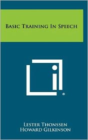 Basic Training In Speech